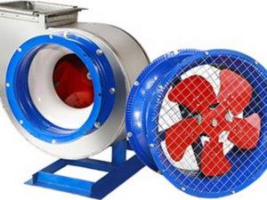 Вентиляторы и воздуховытяжные устройства